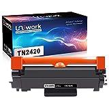 Mit Chip - Uniwork Toner Ersatz für Brother TN2420 Kompatibel mit Brother HL-L2310D HL-L2350DW HL-L2370DN HL-L2375DW DCP-L251