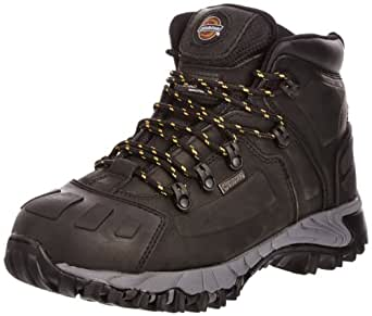Dickies Unisex-Adult Medway S3 Safety Boots FD23310 Black 6 UK, 40 EU
