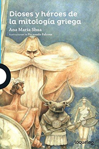 Portada del libro Dioses y Heroes de La Mitologia Griega (Serie Azul)