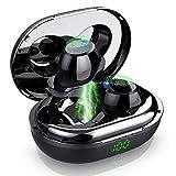 Bluetooth Kopfhörer, Donerton Bluetooth 5.0 In Ear Kopfhörer, IPX7 Wasserdicht Kopfhörer Kabellos Sport, 120H Standby-Zeit, 1200mAh Ladekoffer, Deep Bass HD-Stereo Mikrofon, LCD Digitalanzeige