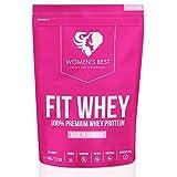 Fit Whey Protein Komplex – Protein Shake für Muskelaufbau – Proteinpulver – Eiweiß Shake / 1 kg BANANE