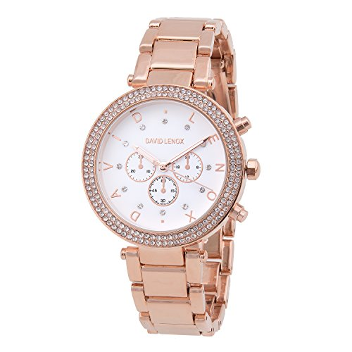 David Lenox Rose Gold Damen Stil DL0130
