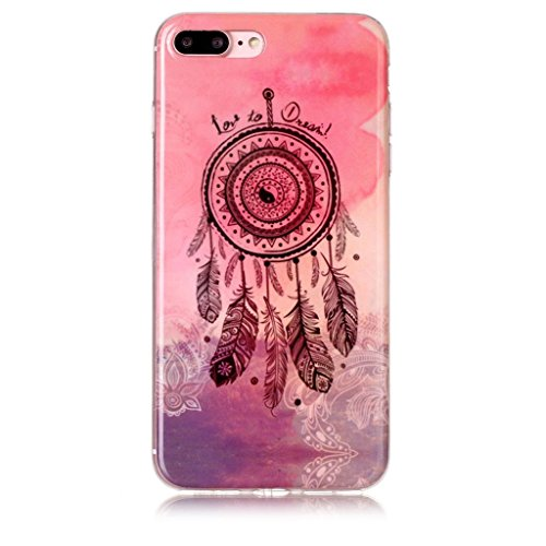 Custodia Cover Per Apple iPhone 7 Plus / iPhone 8 Plus 5.5 , WenJie Macchina fotografica Trasparente Silicone Sottile Back Case Molle di TPU Trasparente per Apple iPhone 7 Plus / iPhone 8 Plus 5.5 A10