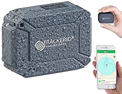 TrackerID GPS Tracker Auto: GPS- & GSM-Tracker, Live-Tracking-App, SOS-Funktion, Geofencing, IP67 (GPS Tracker Live Verfolgen)