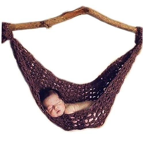 oren Junge Mädchen Outfits Baby Fotografie Requisiten Häkeln Hängematte ()