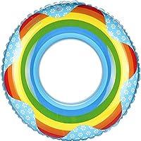 Anillo de natación piscina flotador Asiento inflable del flotador de la piscina del anillo de la