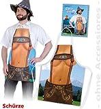 FASCHING 10823 Kostüm Bayern-Schürze Toni Schürze NEU/OVP
