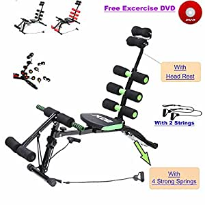 ABS Rocket Stuhl Bauch Fitness Multi 6 Gym Trainer