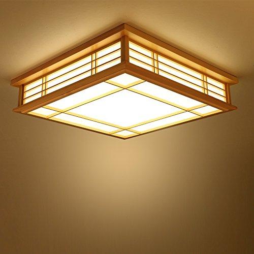 gqlb-la-luz-en-techo-techo-de-madera-se-allume-450-mm-longitud-del-borde-cuadrado