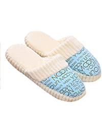 New New Fashion Women Ladies Home Floor Soft Slippers Female Cotton-padded Shoes Winter Soft Warm Slippers Shoes