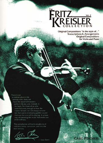 Fritz Kreisler Collection 2 Violin Piano (Fritz Kreisler Collection)