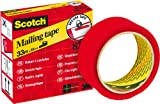 Scotch Secure Tape for Sealing 35 mm x 33 m Red