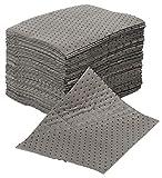 Confezione da 50 dischetti assorbenti universali per la manutenzione generica, assorbenti, pesanti, ogni tampone assorbe circa 1 litro ciascuno.