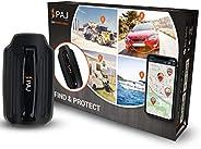 PAJ GPS Power Finder GPS-Tracker Auto, Motorrad, Fahrzeuge und LKW´s inkl Magneten, ca. 40 Tage Akkulaufzeit (bis zu 90 Tage