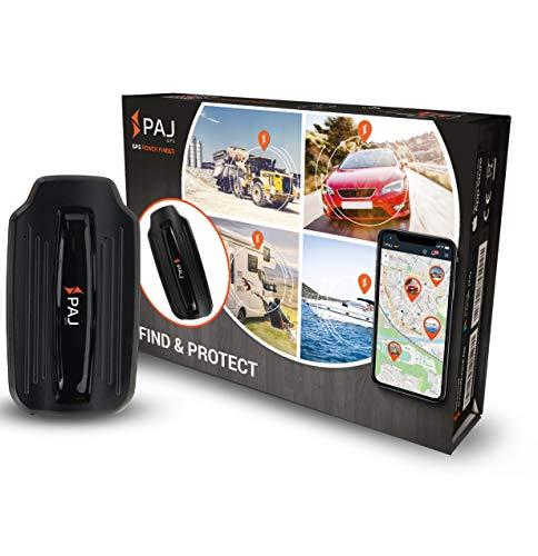 PAJ-GPS Power Finder GPS-Tracker inkl Magneten als Diebstahlschutz für Auto, Wohnmobil, Boot mit 40 Tage Li-ion Akku, Ortung mit App