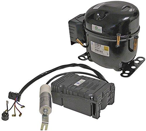 HMBP AE4470Z - Compresor de frío (R404A, 50 Hz, 220-240 V, calibre total 13,7kg, 1/2HP)