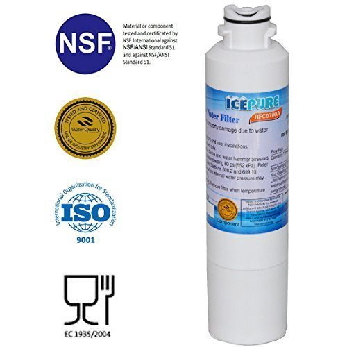 IcePure Water Filter to Replace Samsung, Kenmore, Sears, DA29-00020A, DA29-00020B, DA2900020A, DA2900020B, DA-97-08006A, DA-97-08006A-B, DA-97-08006B, DA2900019A, DA97-08006A-B, DA29-00019A, HAF-CIN, HAF-CIN-EXP, HAF-CINEXP, HAFCIN, 9101, 46-9101, 469101, WF294. by IcePure - Sears Kenmore