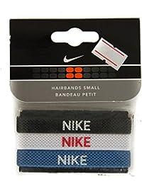 Nike Confezione di 3 elastici piccoli lacci per capelli articolo AC1155 MISC DIVERS