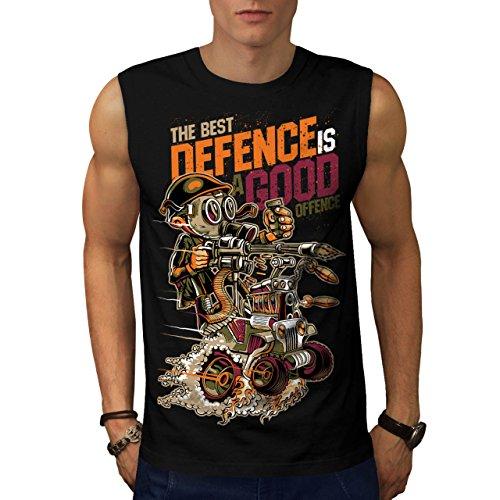 Militär-armee-scharfschütze-t-shirt Top (Schlittschuh Oder Tod Mode Machen Wahl Herren S Ärmellos T-shirt | Wellcoda)