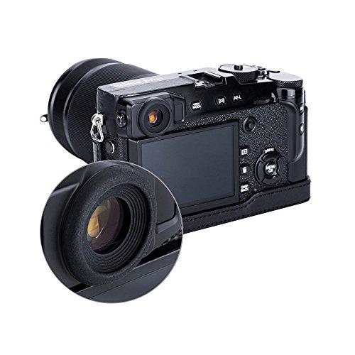 PROfoto.Trend/JJC Suave Silicona Goma Ocular Ocular de Goma para Cámara Fujifilm X-Pro2 (2 Unidades por Paquete)