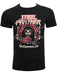 Official T Shirt STEEL PANTHER Metal DEATH TO ALL Distressed M