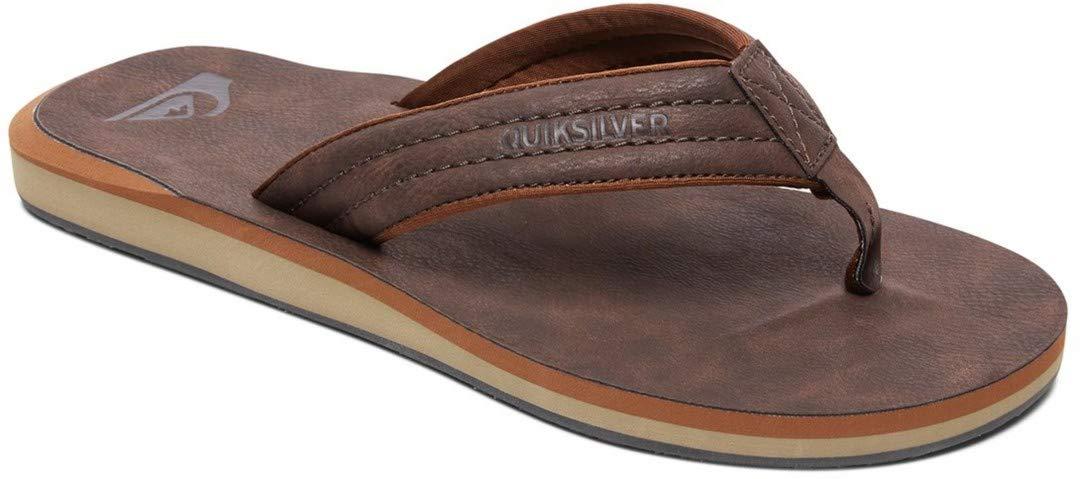 QUIKSILVER Carver Nubuck-Sandals for Men Scarpe da Spiaggia e Piscina Uomo