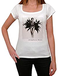 Josephine Baker, tee shirt femme, imprimé célébrité,Blanc, t shirt femme,cadeau