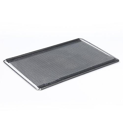 GOURMETmaxx Grill- & Backgitter ausziehbar schwarz | Pizzagitter | backen, rösten,