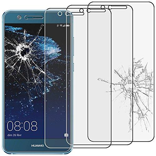 ebestStar - Huawei P10 Lite Panzerglas x3 Schutzfolie Glas, Schutzglas Displayschutz, Displayschutzfolie 9H gehärtes Glas [P10 Lite: 146.5 x 72 x 7.2mm, 5.2\'\']