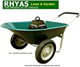 Rhyas Twin Wheeled Wheel Barrow 66 Litre