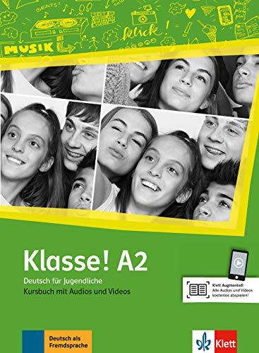 Klasse! a2, libro del alumno + audio + video