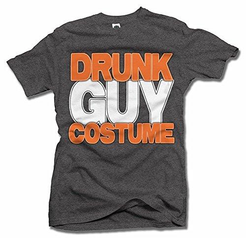 DRUNK GUY COSTUME HALLOWEEN T-SHIRT Men's Tee (6.1oz)