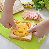 KITCHY New Little Plastic Bear Shape Sandwich Cutter Bread Toast Mold Mould Maker DIY Mold Craft Mould