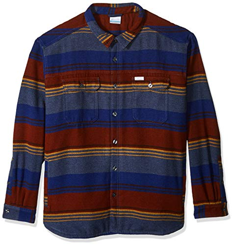 Columbia Herren Windward IV Shirt Jacket Sweatshirt, Dynasty Stripe, Mittel Columbia Sportswear Winter-pullover