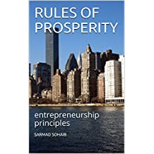 RULES OF PROSPERITY: entrepreneurship principles (English Edition)