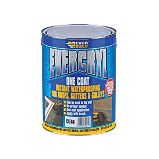 Everbuild EVBEVCCL1 Evercryl One Coat Compound 1 kg, Clear, 1kg