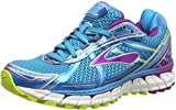 Brooks Adrenaline GTS 15, Damen Laufschuhe, Blau (HawaiianOcean/Hollyhock/LimePunch), 40 EU (6.5 Damen UK)