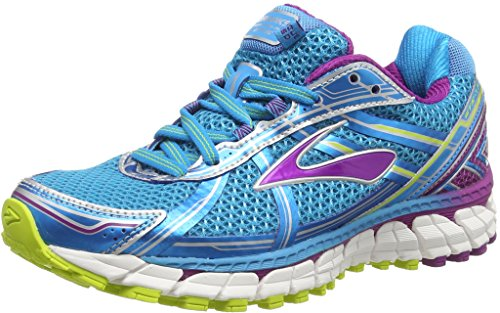 BrooksAdrenaline GTS 15 - zapatillas de running Mujer, Azul - Blau (HawaiianOcean/Hollyhock/LimePunch), EU 40 (US 8.5)