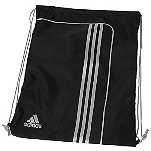 Rucksack Weitermachen, Kinder (Adidas Trainingsbeutel, Unisex, 3Streifen, Sporttasche, 50x 38cm)