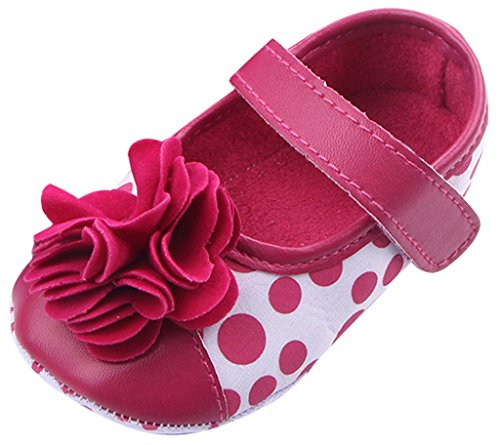 Prinzessin Ballerinas Halbschuhe Blume Mädchen Lukis Rosarot Baby Gepunkt qX8Ea