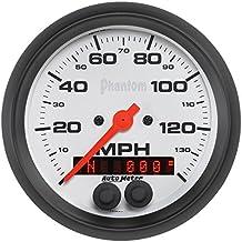 Auto Meter 5880 3-3/8 Phantom GPS Speedo w/Rally-Nav Display