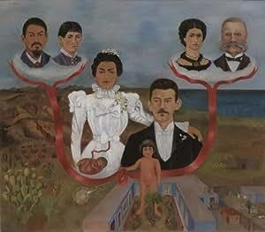 Poster/Impression sur toile - 12 x 10 inches / 30 x 25 CM - Frida Kahlo - Mes grands-parents, mes...
