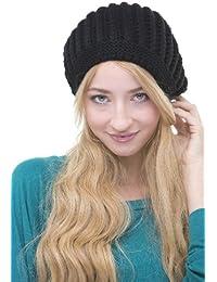 """Mütze """"Lily"""" mit Bommel - Strickmütze und long beanie für Damen Winter Neu"""