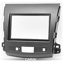 CARAV 08–004doble DIN Radio estéreo adaptador DVD Dash Kit de instalación rodeado Trim - Facia Trim Fascia con 173* 98mm y 178* mm