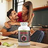 L-Arginin + Maca Intenso 240 Kapseln, 5800mg Tagesdosierung, Hochdosierte Formel für den aktiven Mann und Frau, 60 Tage Anwendung, 100% Vegan, Vit4ever - 5