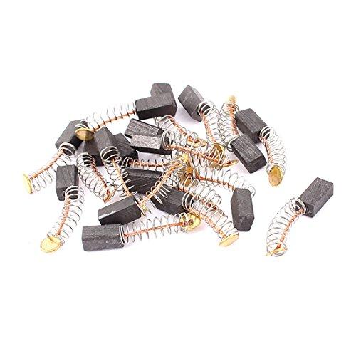 sourcingmap® 9 pares Cepillos de Carbono 10x5x4mm de motor eléctrico Genérico Amoladora