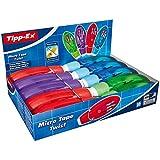 Tipp-Ex Micro Tape Twist Rubans Correcteurs 8m - Corps Couleurs Assorties, Boîte de 10