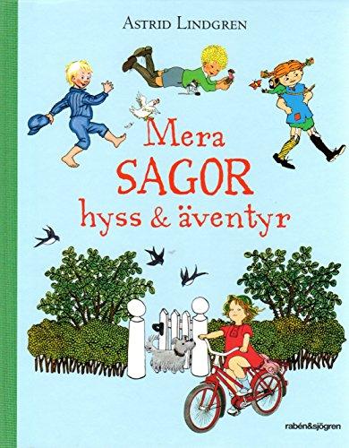 Astrid Lindgren SCHWEDISCH - Mera Sagor, Hyss & Äventyr (Pippi, Emil, Lotta)