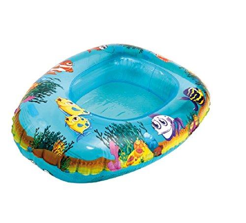 Babyboot - Kleinkinder Boot - Kinder Boot Kinderboot Schlauchboot Pool-Cruiser Kinder-Schlauchboot ca. 77 x 53 cm dieses Boot sorgt für noch mehr Spaß beim Spielen im Wasser witzige Design ist ein Hingucker Strandboot Aufblasbarer Boden für extra Komfort / Maritim