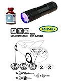 UV Dye & UV Torch Kit Leak Detection Fluid For Oil & Fuel (Petrol & Diesel) Leaks RLD4